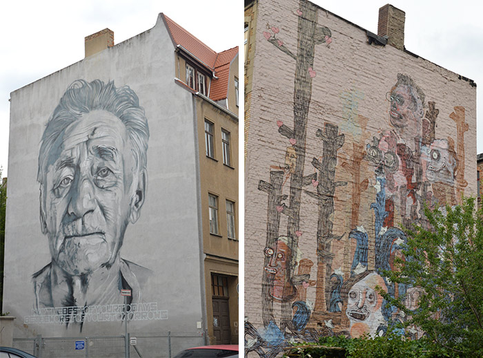 halle allemagne street art