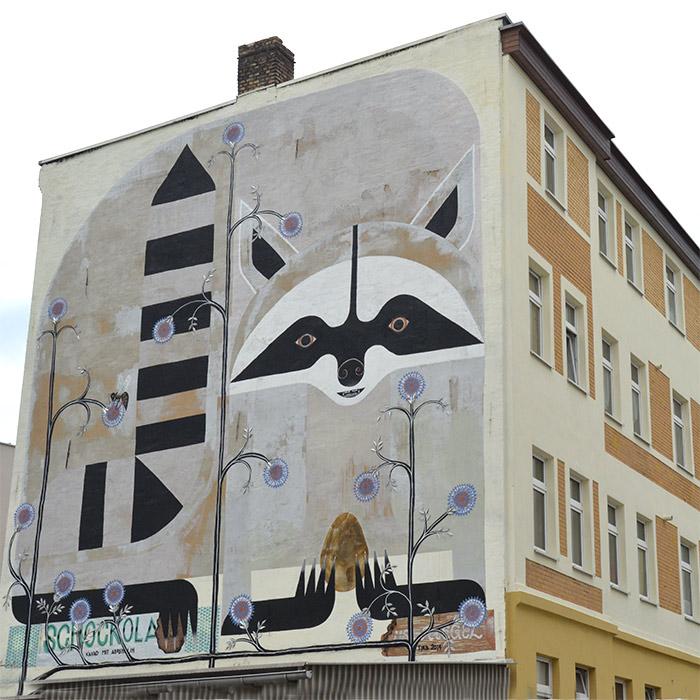 halle saxe allemagne street art tika thek