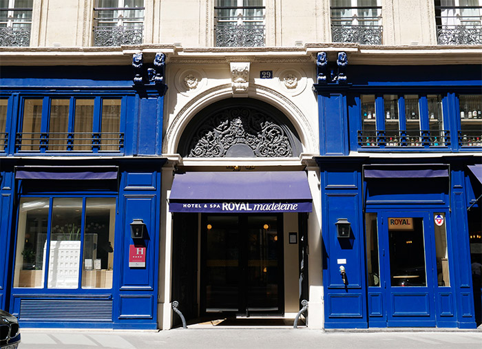 paris hotel royal madeleine