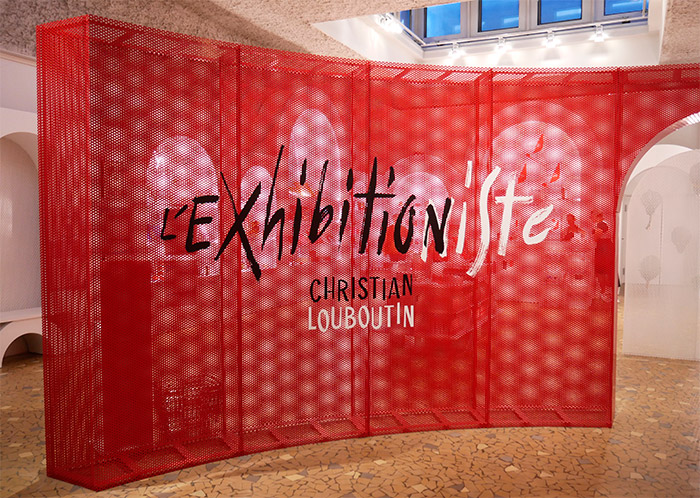 l'exhibitionniste louboutin exposition