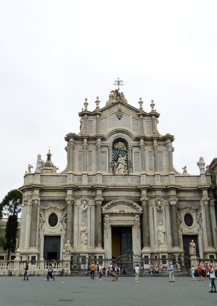cathédrale catane sicile