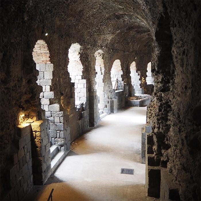 catane sicile teatro romano