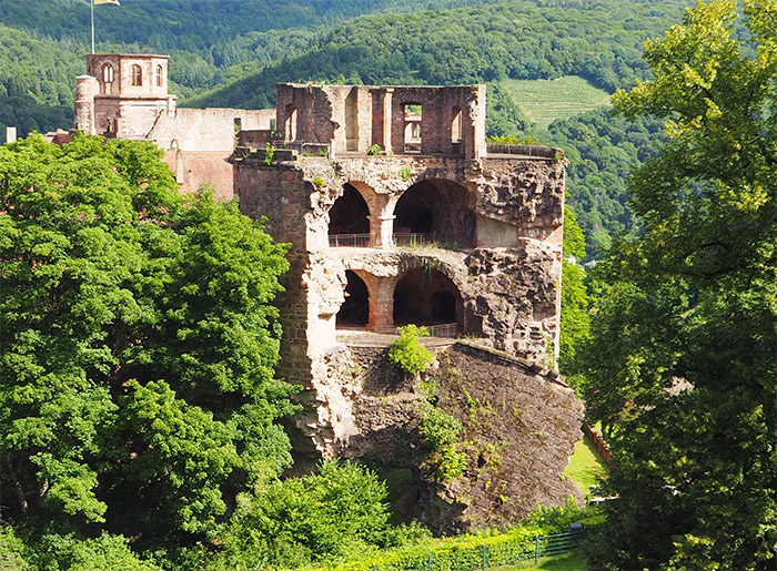 heidelberg chateau allemagne