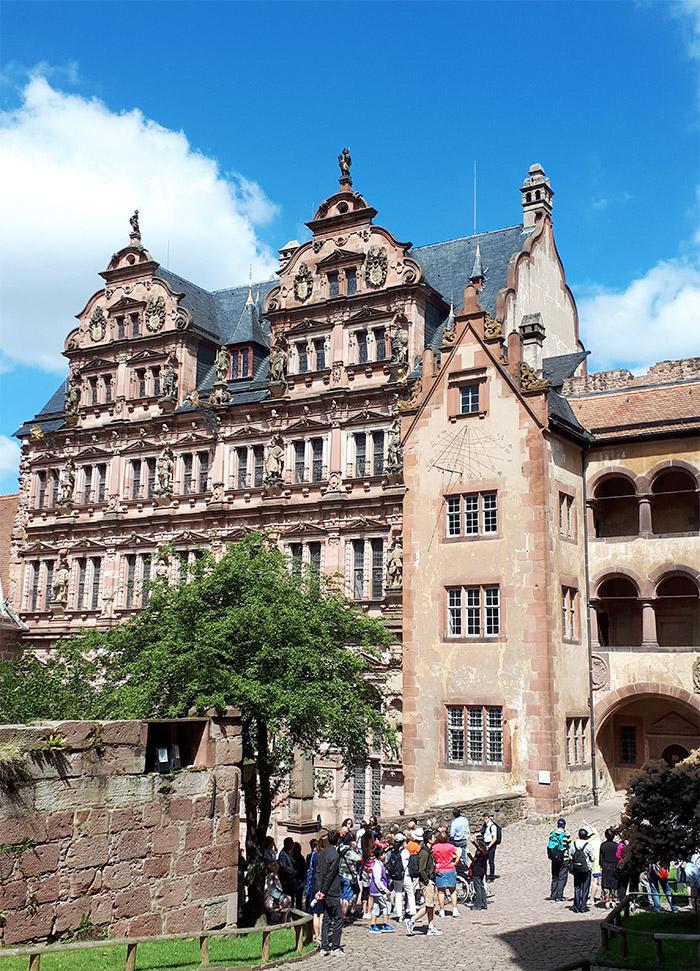 heidelberg allemagne château