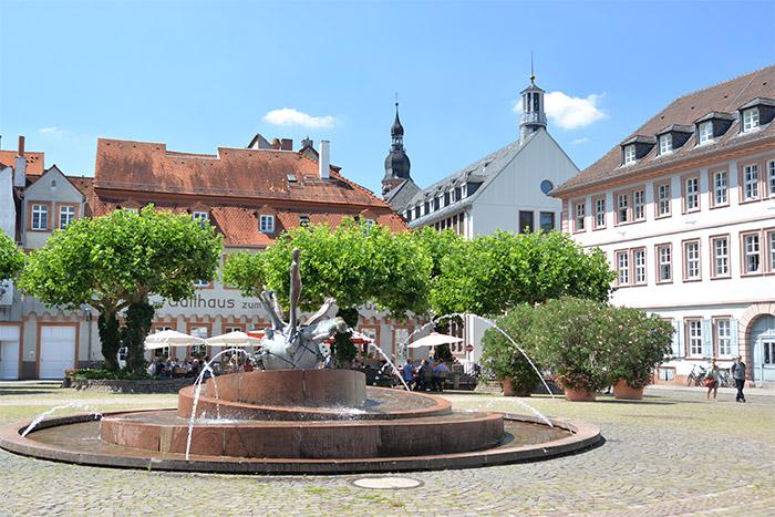 heidelberg centre historique allemagne