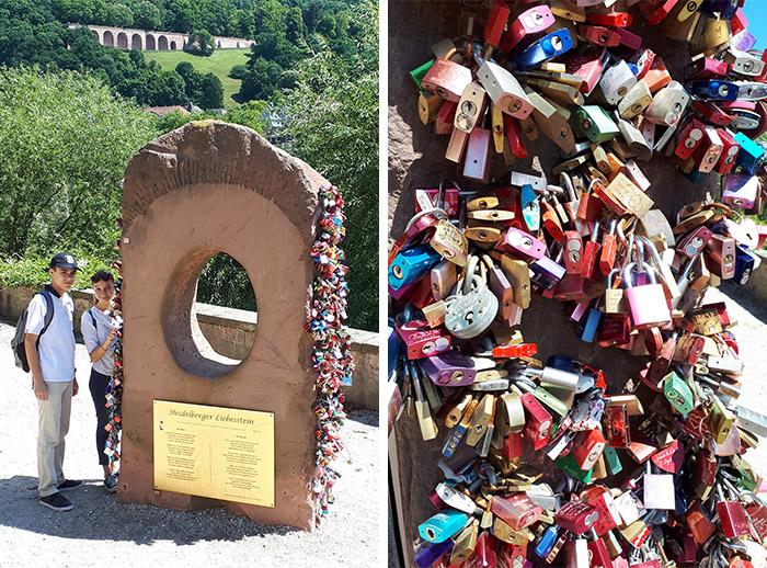 heidelberg cadenas amour pont terrasse