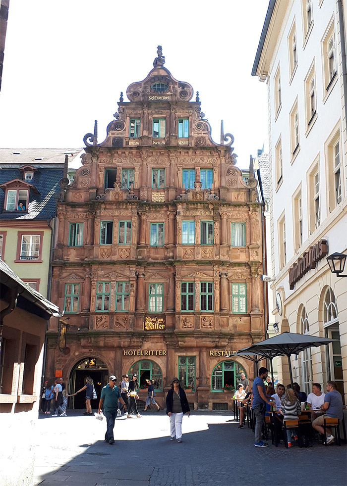 hotel zum ritter st georg heidelberg