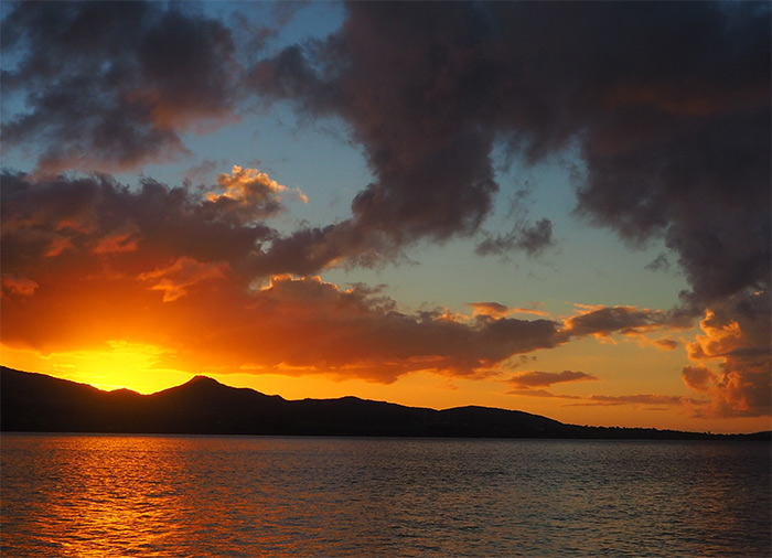 coucher soleil guadeloupe sunset