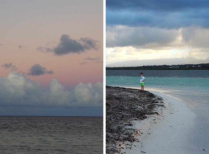 guadeloupe plage ilet blanc