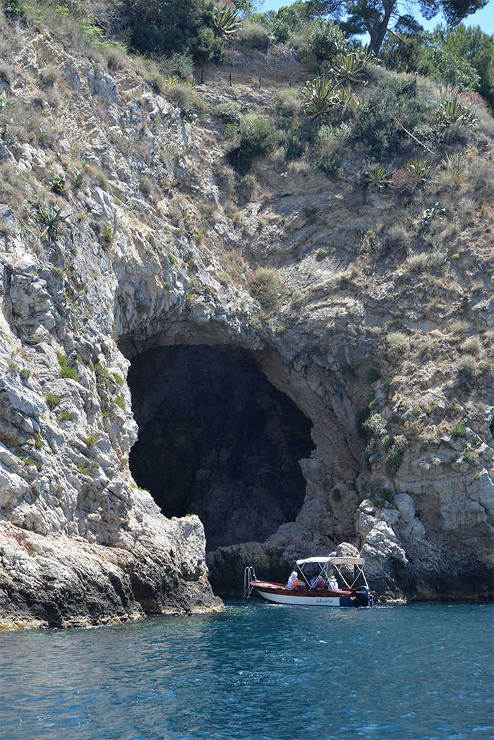 sicile isola bella grotte
