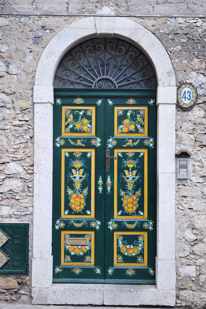 sicile taormine porte