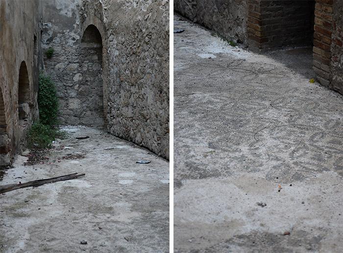 sicile taormine mosaïques IIème siècle