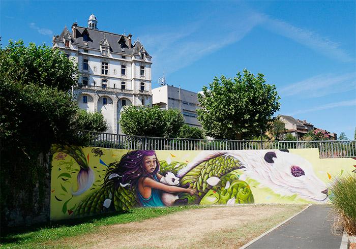 doudou style street art