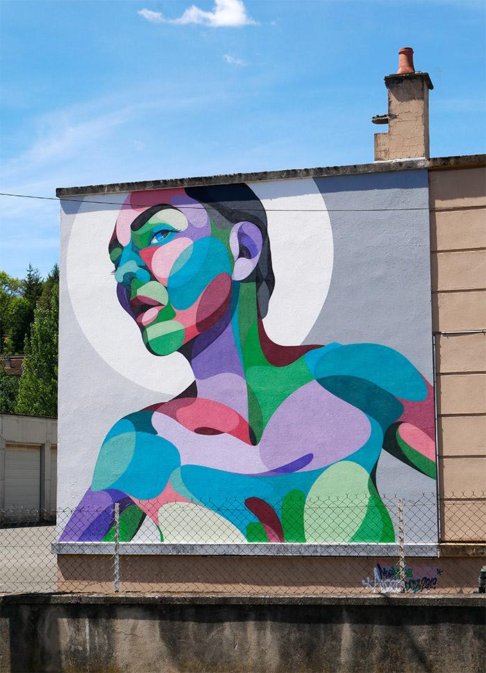 alber street art murs murs decazeville