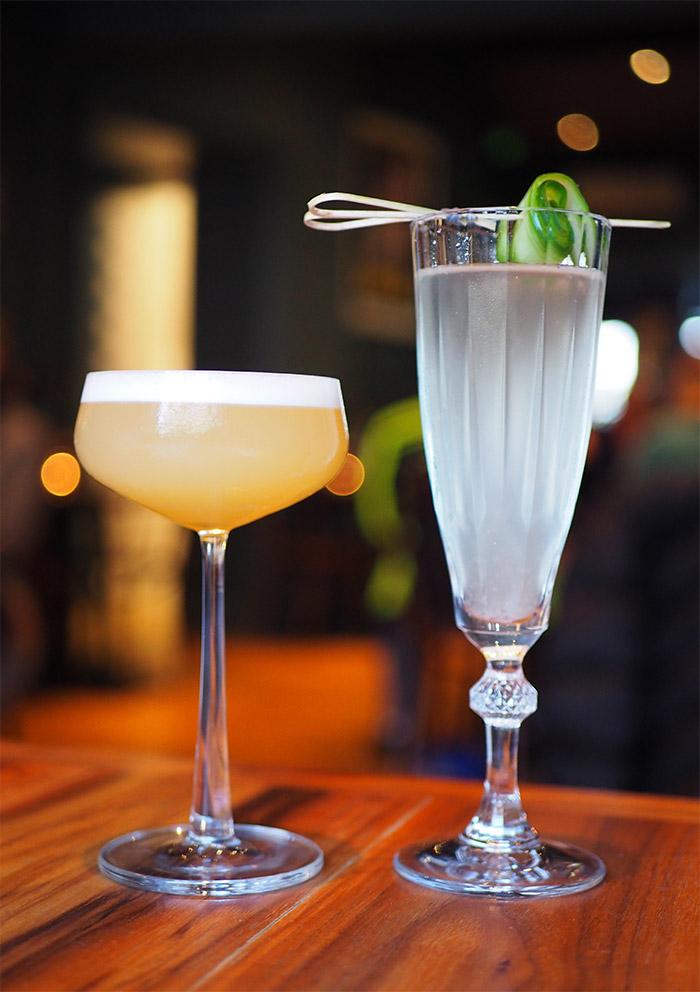edimbourg cocktails voyage of buck