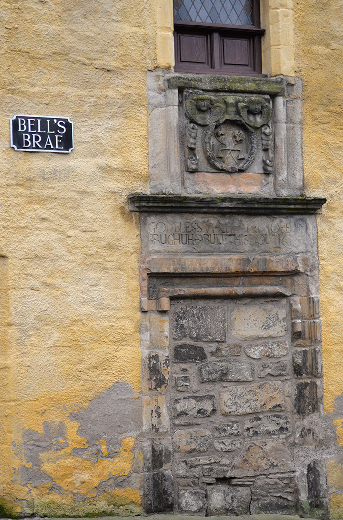 bells brae dean village edimbourg