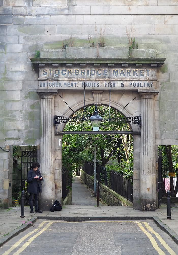 edimbourg stockbridge old market