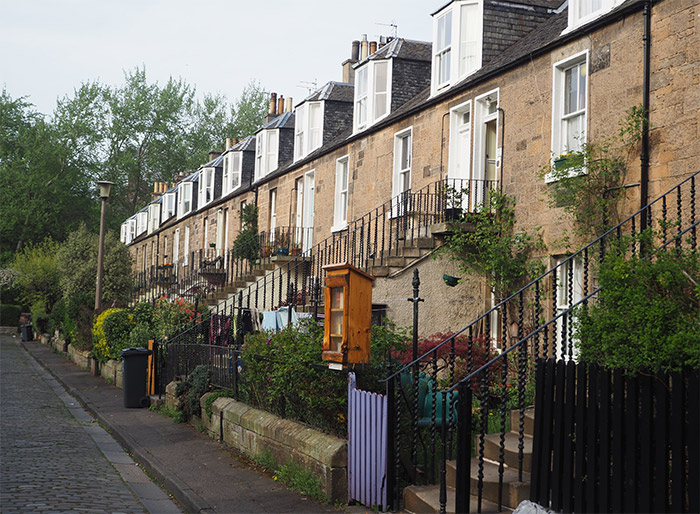 stockbridge maisons colonies ecosse