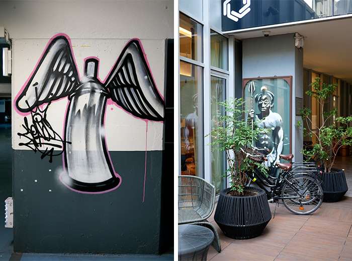 zenoy paris renaissance hotel art