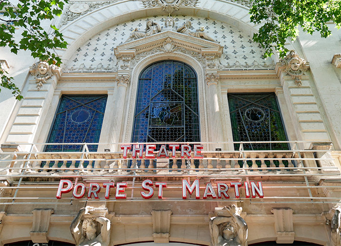 theatre paris porte saint martin