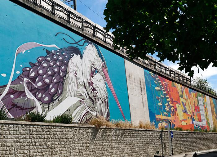 kalouf street art paris rue cambrai