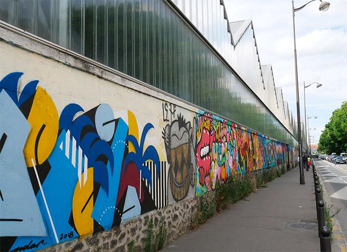 mur rosa parks street art paris