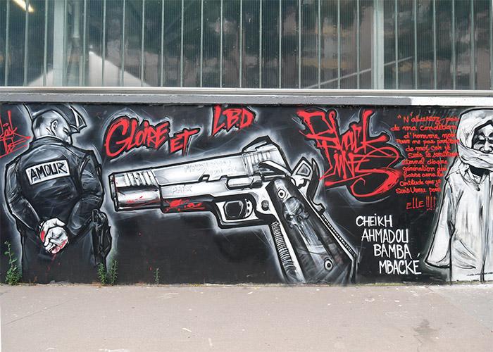 mur rosa parks paris street art