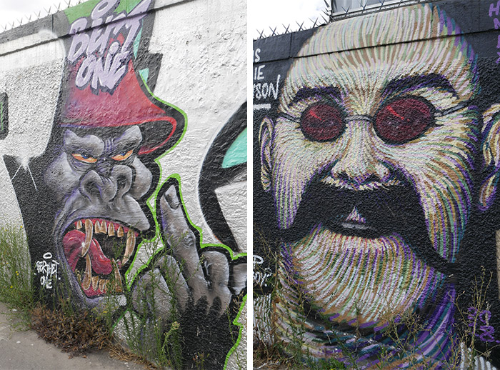 paris mur rosa parks street art