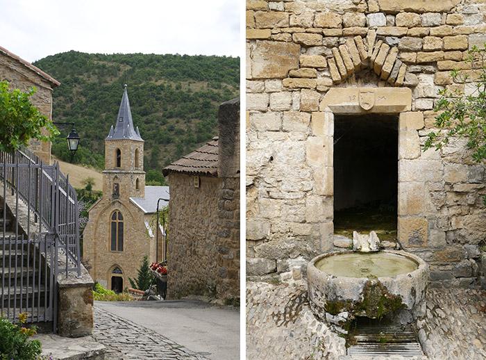 village France Aveyron Peyre