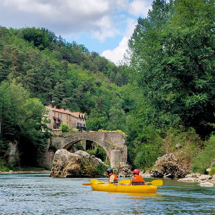 canoe aveyron france