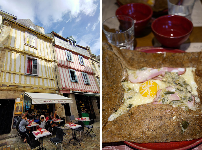 crepes galettes quimper finistere