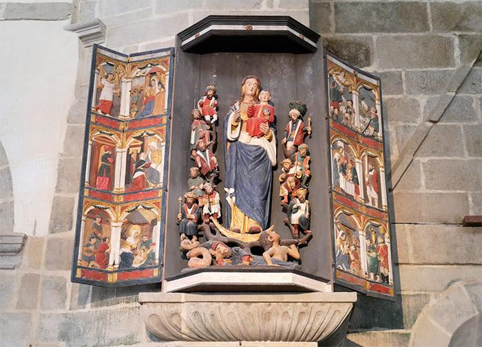saint thegonnec enclos paroissial
