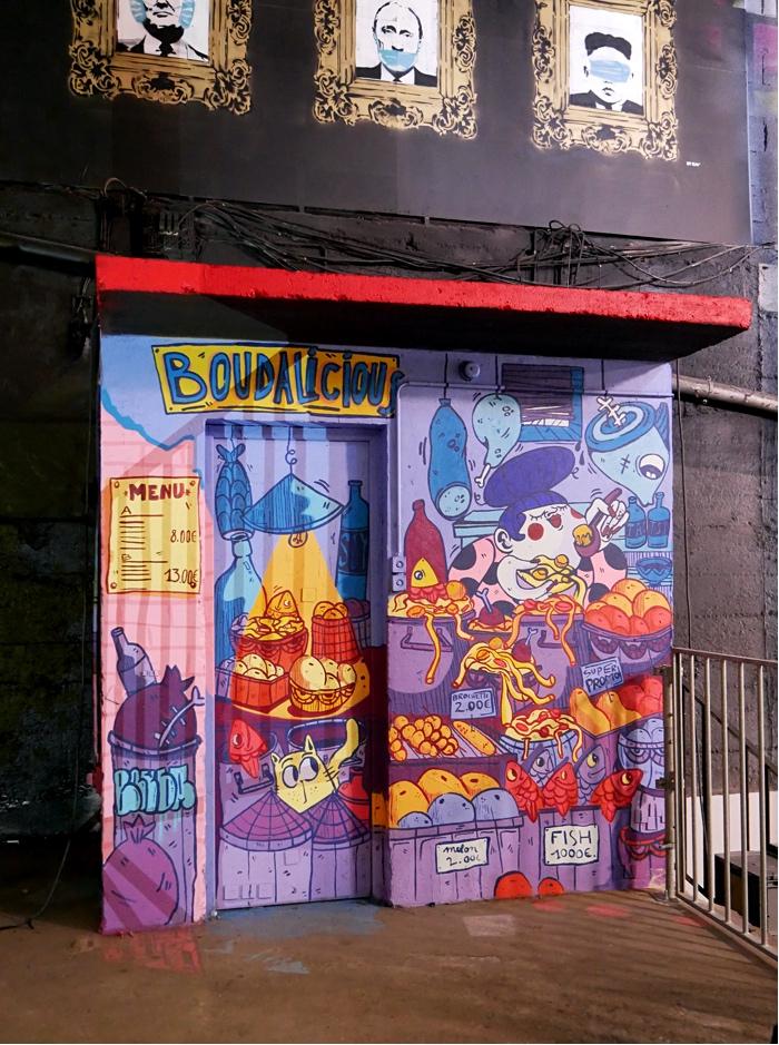 peinture fraiche festival bouda