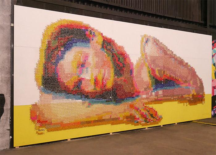 aheneah peinture fraiche festival lyon