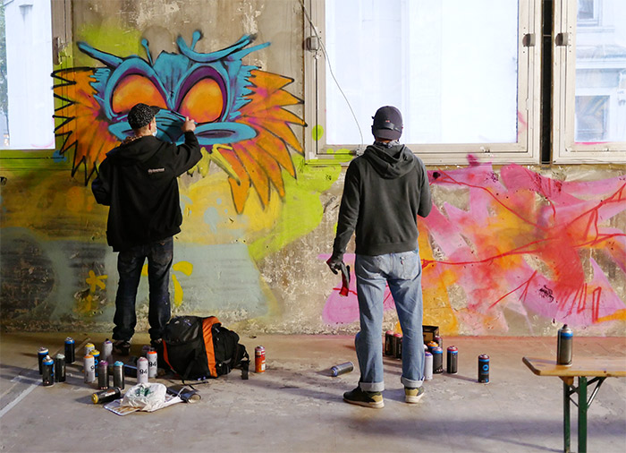 zoo art show graffiti lyon