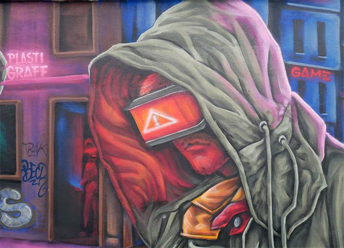 sock street art morlaix graffiti finistere