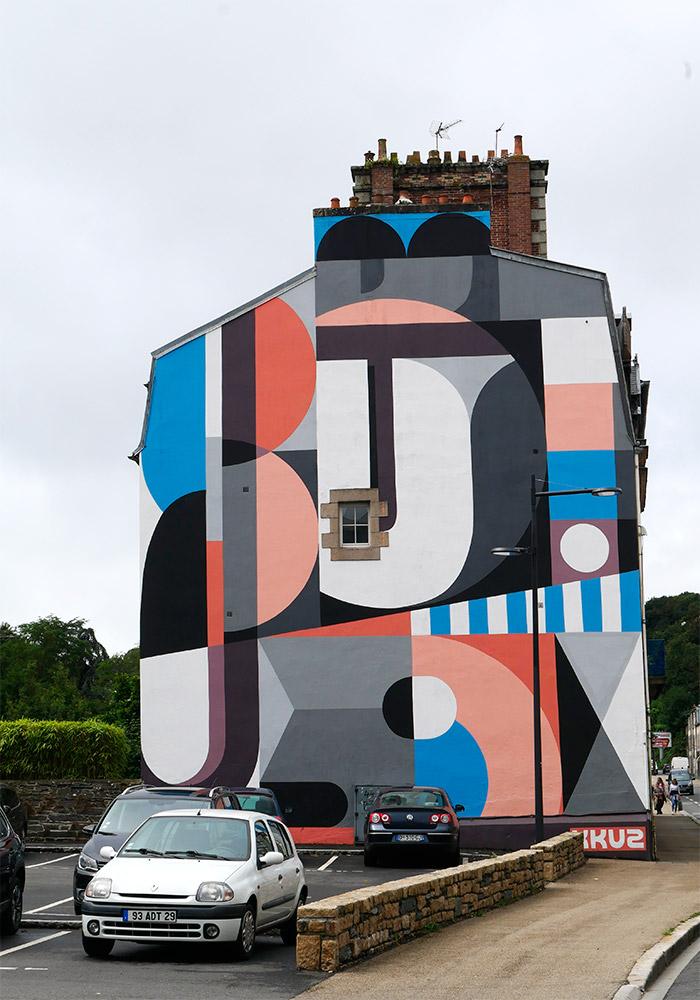 street art Morlaix fresques