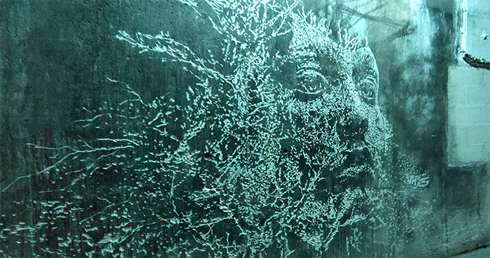Paris Vhils lasco project