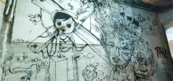 paris lasco project palais tokyo graffiti