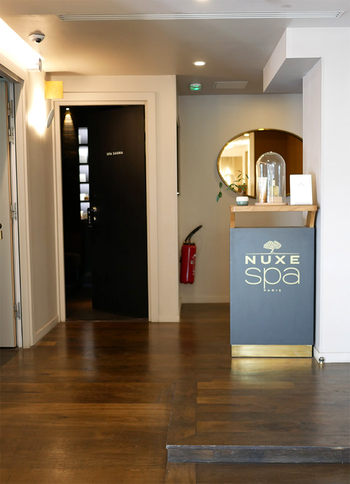 spa nuxe terrass hotel paris