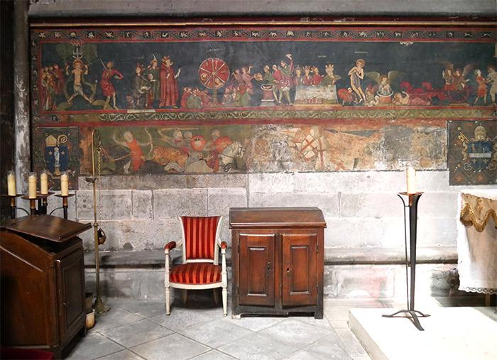 peintures cathedrale clermont ferrand