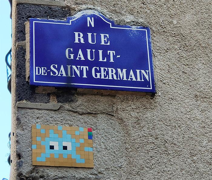clermont ferrand mosaique invader