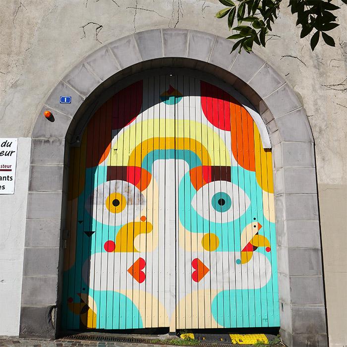 street art squizzato clermont ferrand