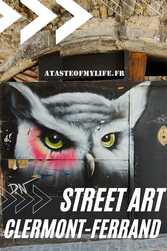 clermont ferrand street art guide