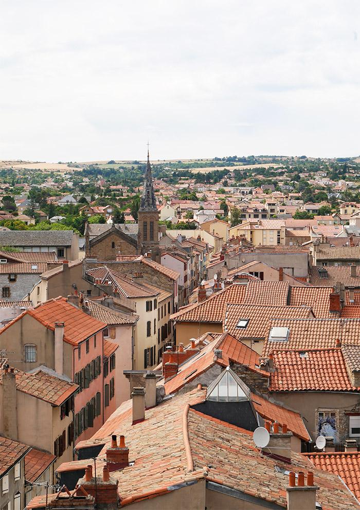 Millau panorama Aveyron France