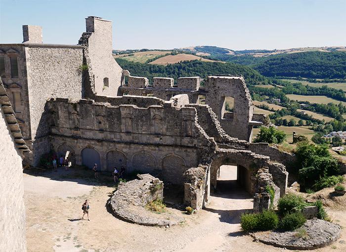 Château de Sévérac d'Aveyron