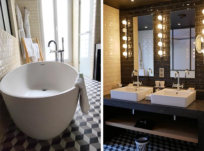 terrass hotel salle bains