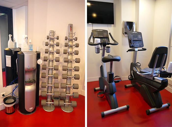 fitness terrass hotel paris