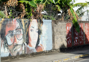 fort de france street art