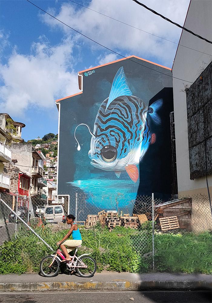 veks van hillik fort de france street art